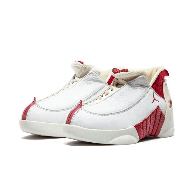 Price本週限時優惠 Air Jordan 15 OG Low 'Deep Red' White/Deep Red 籃球鞋/運動鞋 (136035-161) 海外預訂