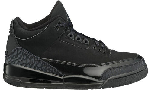 Air Jordan 3 Retro 'Black Cat' Black/Dark Charcoal-Black 籃球鞋/運動鞋 (136064-002) 海外預訂