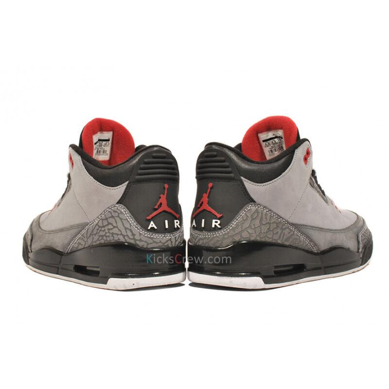 Air Jordan 3 Retro Stealth 籃球鞋/運動鞋 (136064-003) 海外預訂