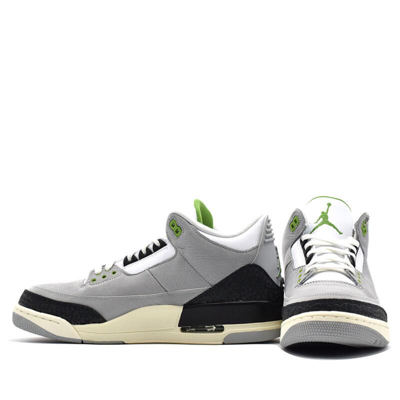Air Jordan 3 Retro Chlorophyll 籃球鞋/運動鞋 (136064-006) 海外預訂