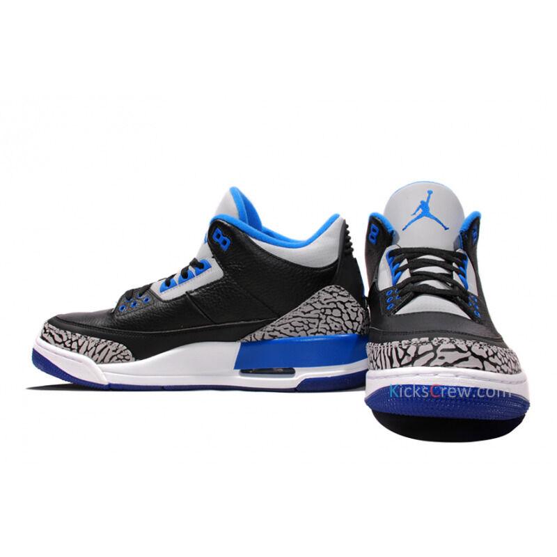 Air Jordan 3 Retro Sport Blue 籃球鞋/運動鞋 (136064-007) 海外預訂