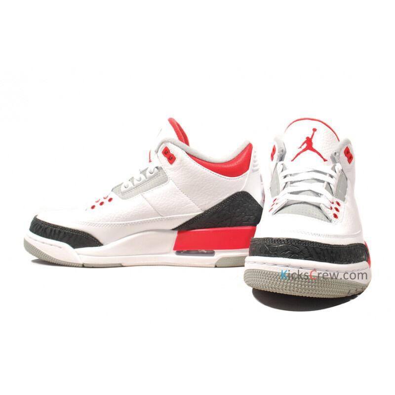 Air Jordan 3 Retro Fire Red 籃球鞋/運動鞋 (136064-120) 海外預訂