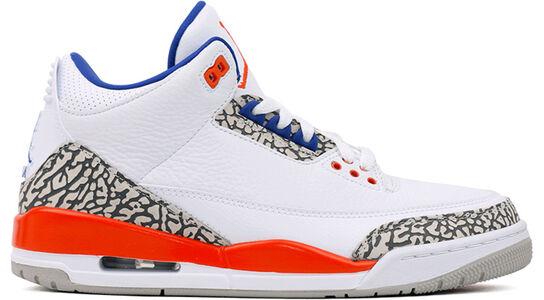 Air Jordan 3 Retro Knicks 籃球鞋/運動鞋 (136064-148) 海外預訂
