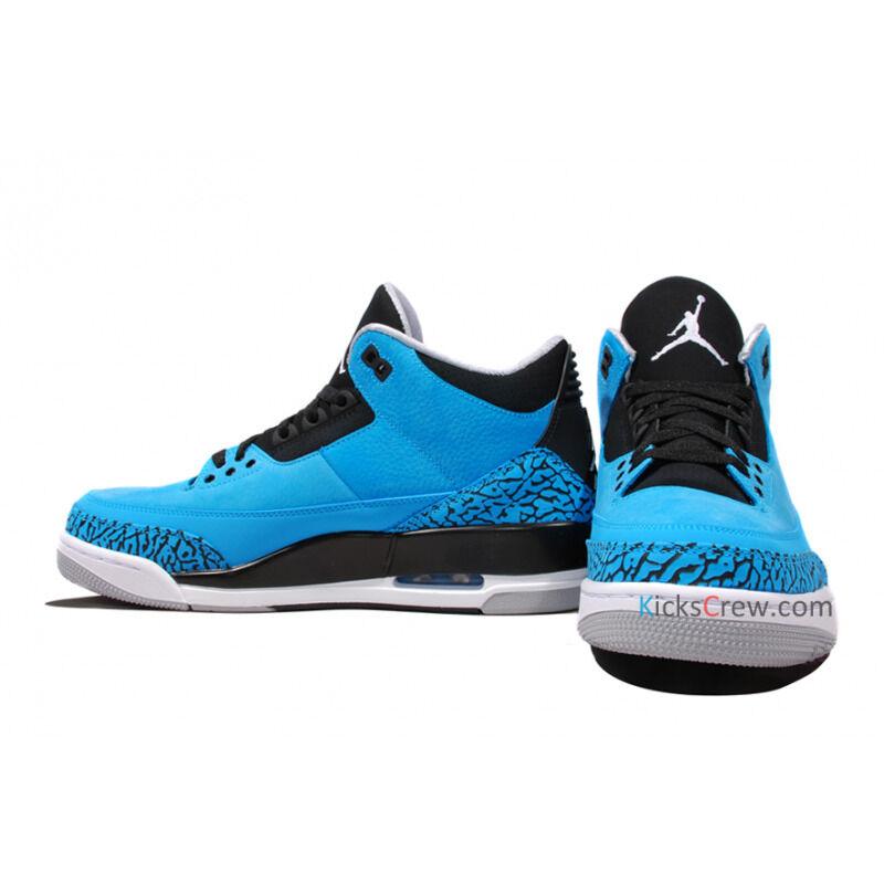 Air Jordan 3 Retro Powder Blue 籃球鞋/運動鞋 (136064-406) 海外預訂