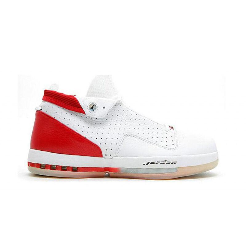 Air Jordan 16 OG Low 'Varsity Red' White/Black/Varsity Red 籃球鞋/運動鞋 (136069-101) 海外預訂