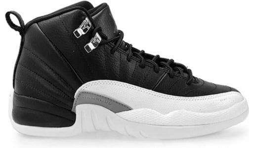 Air Jordan 12 Retro'Playoff' 2012 GS Black/Varsity Red-White 籃球鞋/運動鞋 (153265-001) 海外預訂