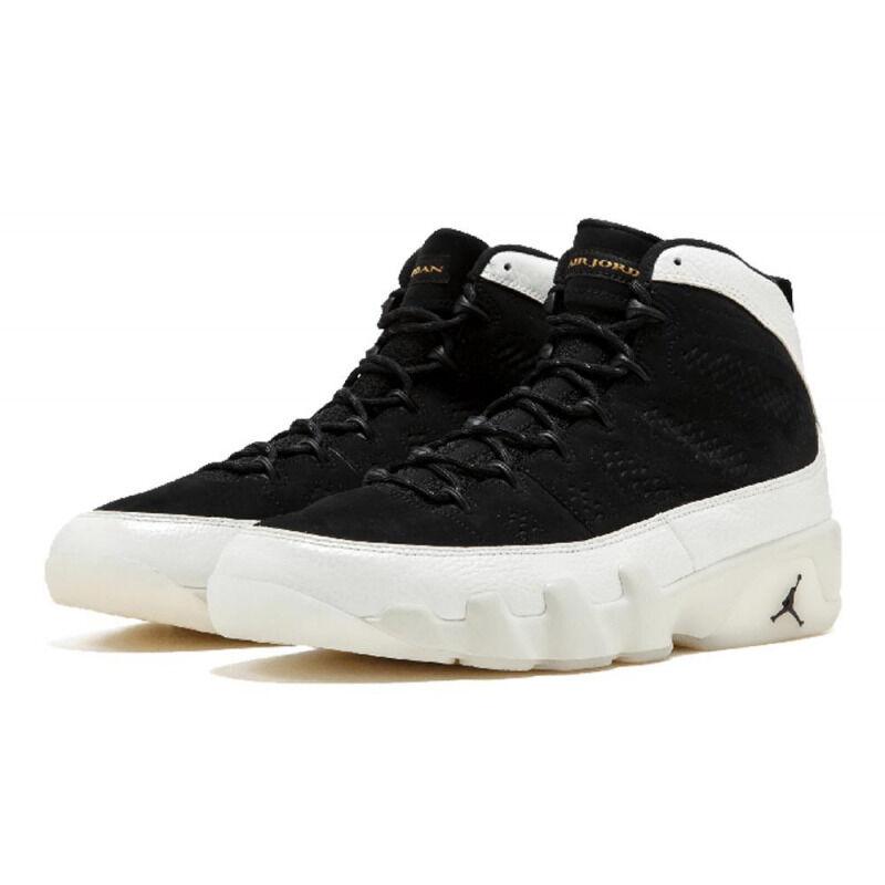 Air Jordan 9 Retro BG Black White 籃球鞋/運動鞋 (302359-021) 海外預訂