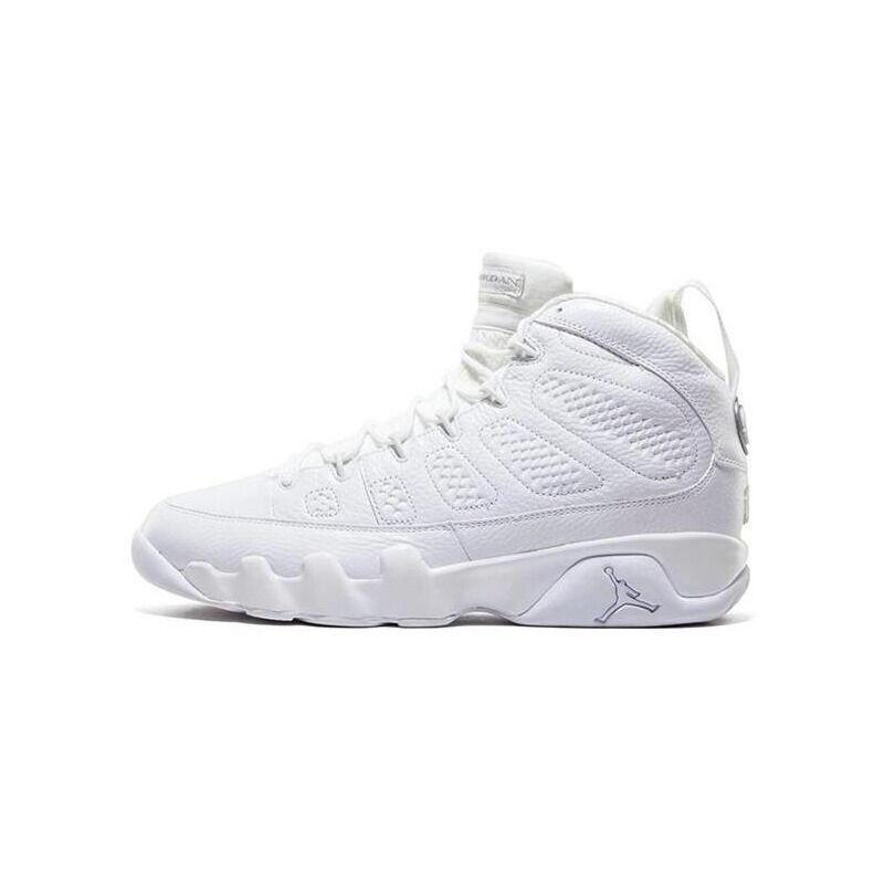 Air Jordan 9 Retro '25th Anniversary' White/Metallic Silver 籃球鞋/運動鞋 (302370-104) 海外預訂