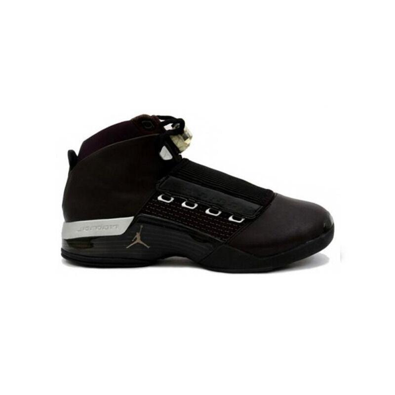 Air Jordan 17 OG 'Black Metallic Silver' Black/Metallic Silver 籃球鞋/運動鞋 (302720-041) 海外預訂
