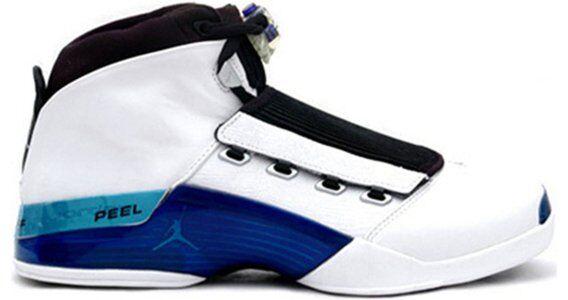 Air Jordan 17 OG 'College Blue' White/College Blue/Black 籃球鞋/運動鞋 (302720-141) 海外預訂