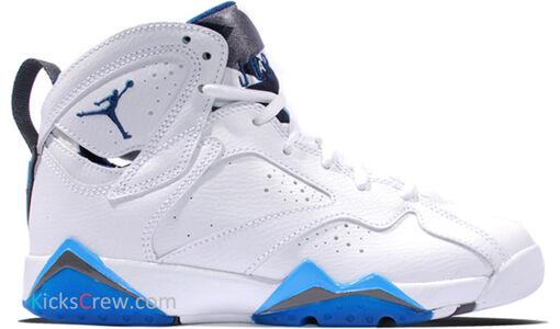 Air Jordan 7 Retro BG French Blue 籃球鞋/運動鞋 (304774-107) 海外預訂