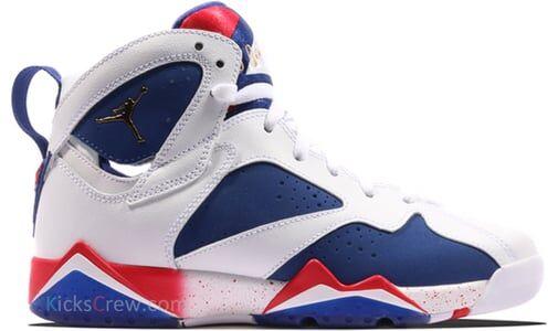 Air Jordan 7 Retro BG Olympic Tinker Alternate 籃球鞋/運動鞋 (304774-123) 海外預訂