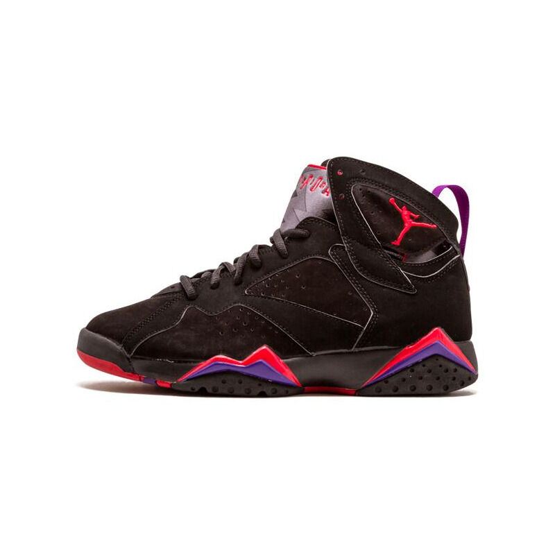 Air Jordan 7 Retro 'Raptor' 2002 Black/Dark Charcoal-True Red 籃球鞋/運動鞋 (304775-006) 海外預訂