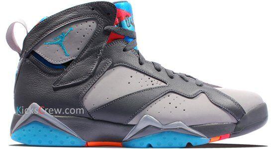 Air Jordan 7 Retro Barcelona Days 籃球鞋/運動鞋 (304775-016) 海外預訂