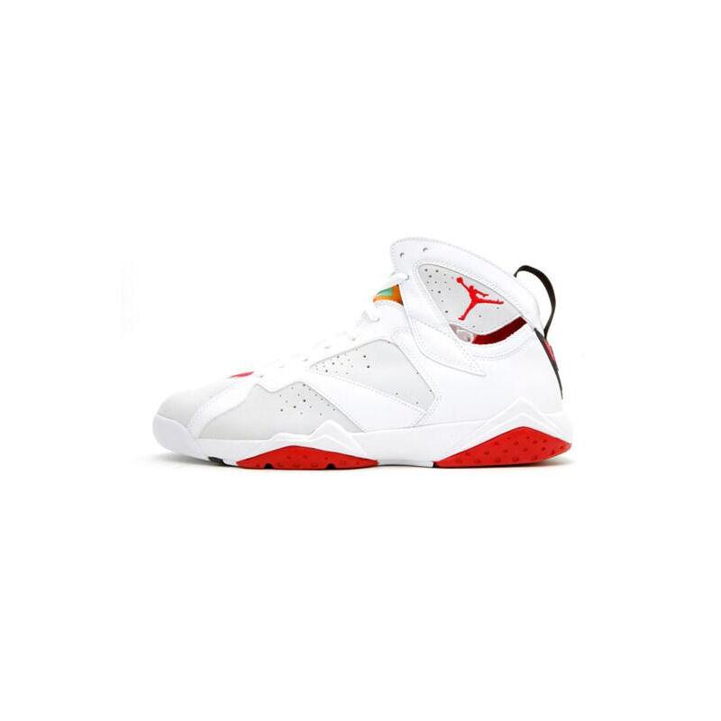 Air Jordan 7 Retro 'Countdown Pack' White/Light Silver-True Red 籃球鞋/運動鞋 (304775-102) 海外預訂