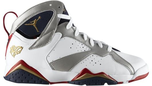 Air Jordan 7 Retro 'For The Love Of The Game' White/Mtllc Gold-Tr Rd-Mid Nvy 籃球鞋/運動鞋 (304775-103) 海外預訂