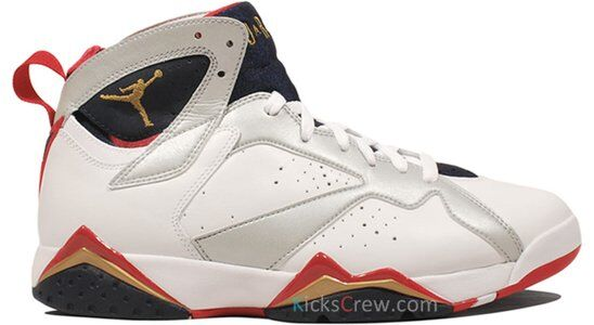 Air Jordan 7 Retro Olympic 籃球鞋/運動鞋 (304775-135) 海外預訂
