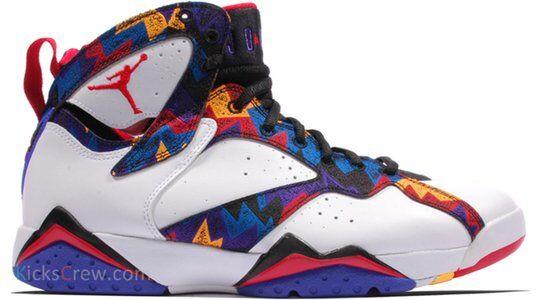 Air Jordan 7 Retro Sweater 籃球鞋/運動鞋 (304775-142) 海外預訂