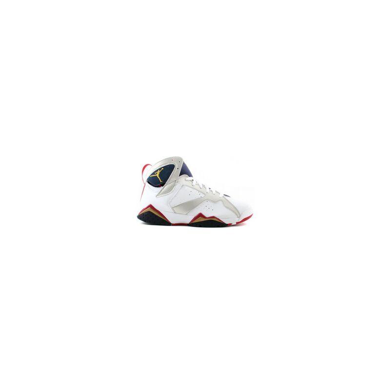 Air Jordan 7 Retro 'Olympic' 2004 White/Metallic Gold-Midnight Navy-True Red 籃球鞋/運動鞋 (304775-171) 海外預訂