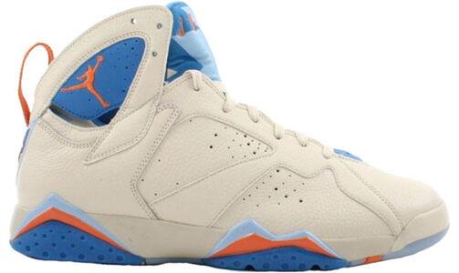 Air Jordan 7 Retro 'Pacific Blue' Pearl White/Bright Ceramic-Pacific Blue 籃球鞋/運動鞋 (304775-281) 海外預訂