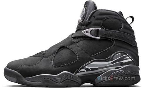 Air Jordan 8 Retro BG Chrome 籃球鞋/運動鞋 (305368-003) 海外預訂