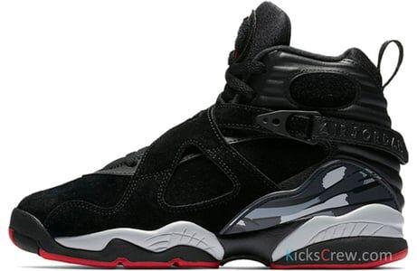 Air Jordan 8 Retro GS Cement - Bred 籃球鞋/運動鞋 (305368-022) 海外預訂