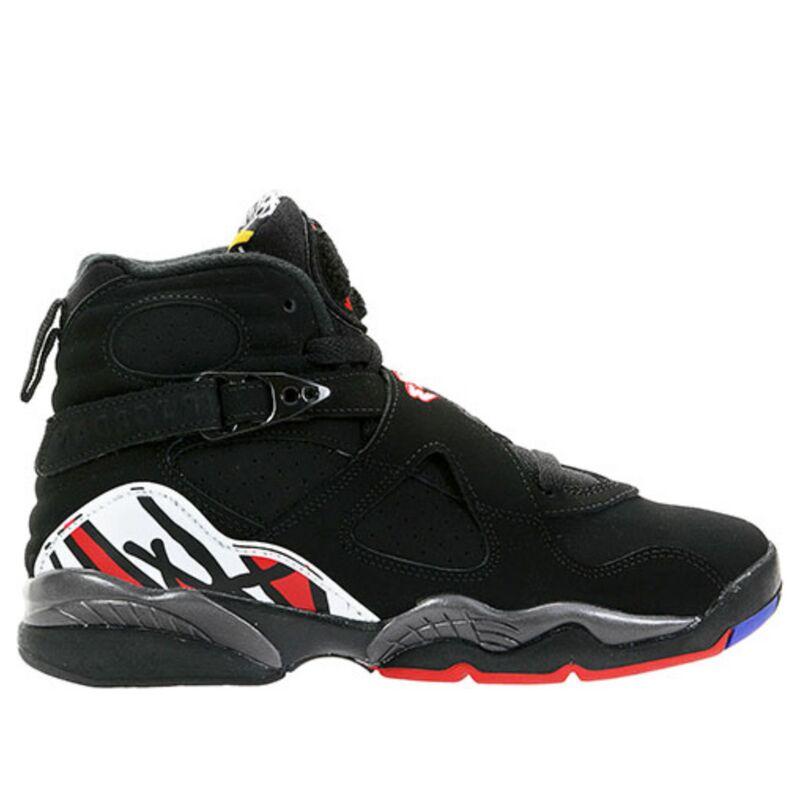 Air Jordan 8 Retro'Playoff' 2007 GS Black/Varsity Red-White 籃球鞋/運動鞋 (305368-061) 海外預訂