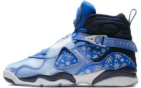 Air Jordan 8 Retro GS Snowflake 籃球鞋/運動鞋 (305368-400) 海外預訂