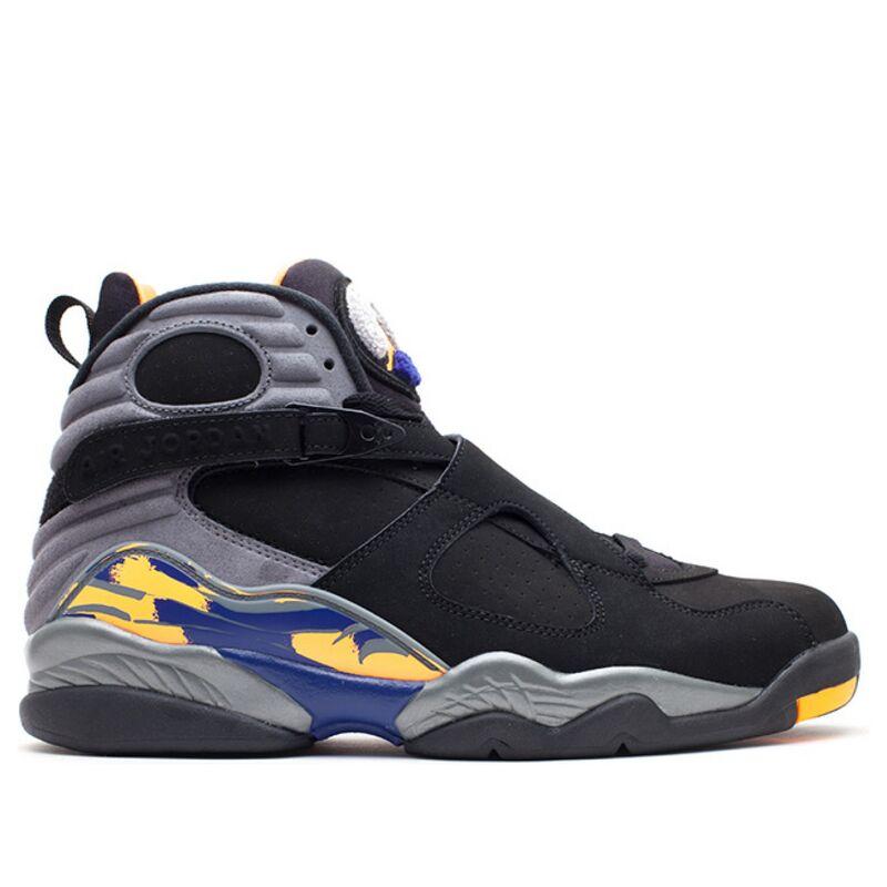 Air Jordan 8 Retro 'Phoenix Suns' blk/brght ctrs-cl gry-dp ryl b 籃球鞋/運動鞋 (305381-043) 海外預訂