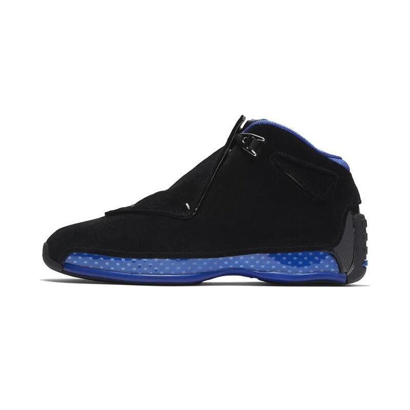 Air Jordan 18 OG 'Black Sport Royal' 2003 Black/Sport Royal 籃球鞋/運動鞋 (305869-041) 海外預訂