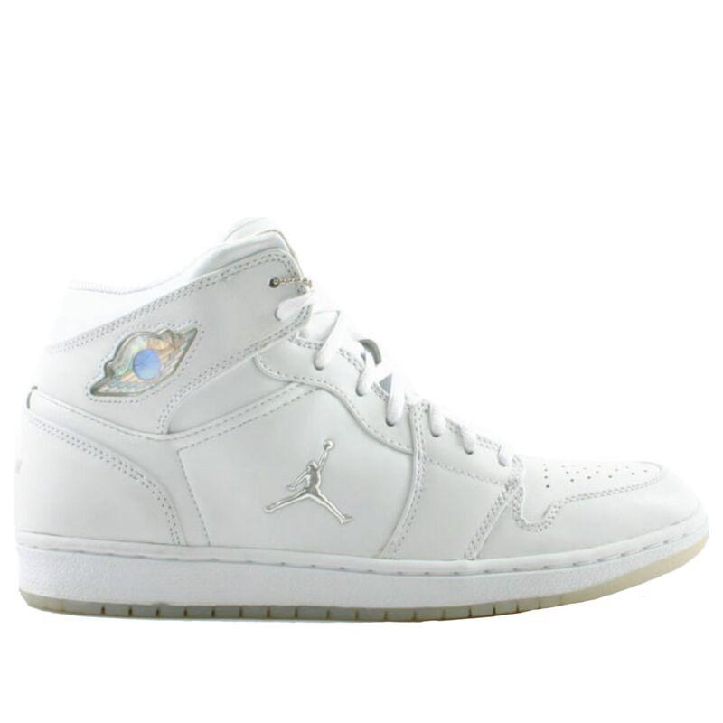 Air Jordan 1 Retro 'White Chrome' 2002 White/Metallic Silver 籃球鞋/運動鞋 (306000-101) 海外預訂