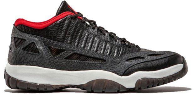 Air Jordan 11 Retro Low 'IE' 2003 Black/Varsity Red-Dark Charcoal 籃球鞋/運動鞋 (306008-061) 海外預訂