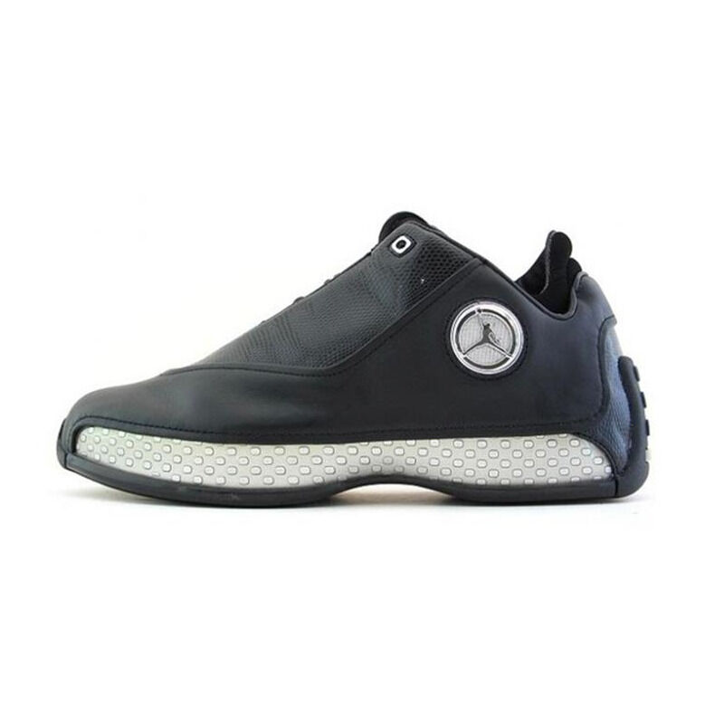 Air Jordan 18 OG Low 'Black Chrome' Black/Chrome/Metallic Silver 籃球鞋/運動鞋 (306151-001) 海外預訂