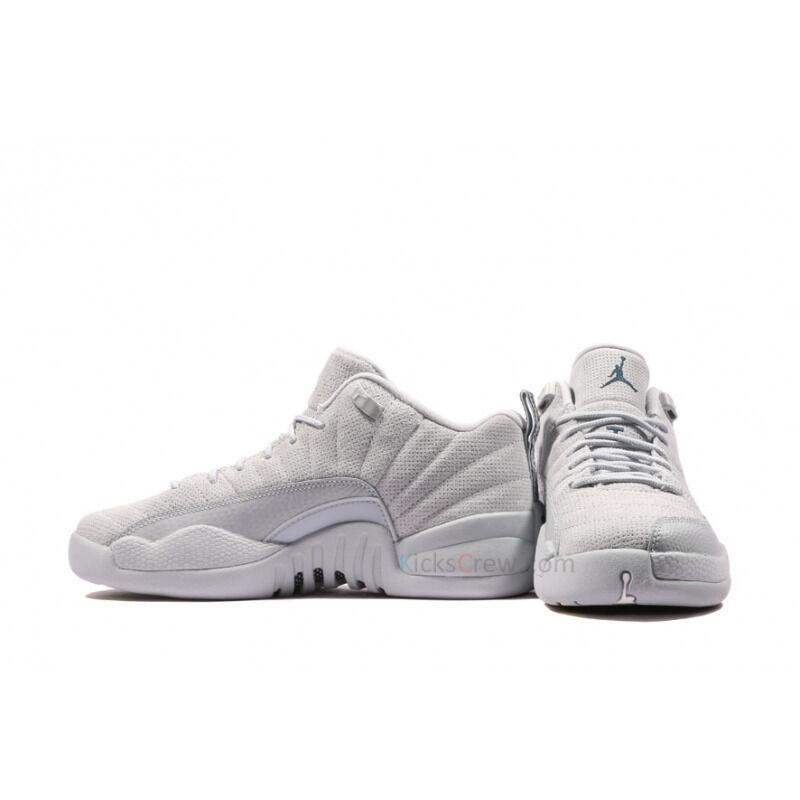 Air Jordan 12 Retro Low BG Wolf Grey 籃球鞋/運動鞋 (308305-002) 海外預訂