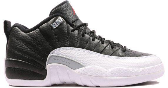 Air Jordan 12 Retro Low BG Playoffs 籃球鞋/運動鞋 (308305-004) 海外預訂