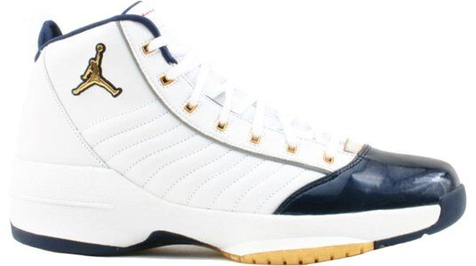 Air Jordan 19 OG SE 'Olympic' White/Metallic Gold/Midnight Navy 籃球鞋/運動鞋 (308492-171) 海外預訂