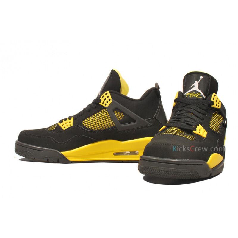 Air Jordan 4 Retro Thunder 籃球鞋/運動鞋 (308497-008) 海外預訂