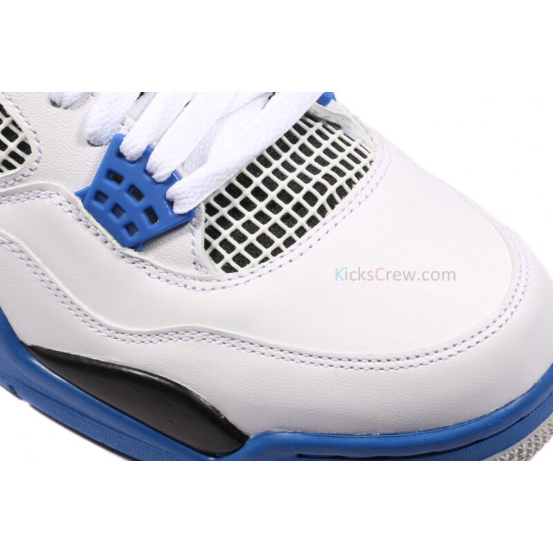 Air Jordan 4 Retro White - Motorsports 籃球鞋/運動鞋 (308497-117) 海外預訂