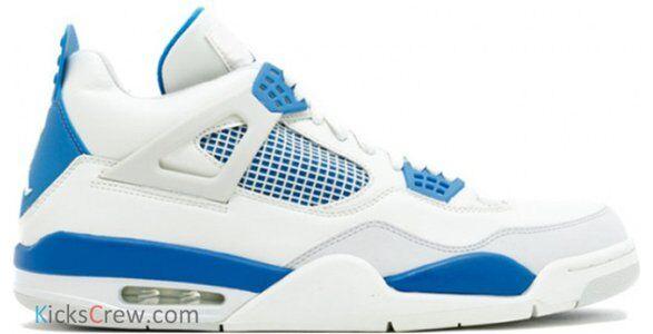Air Jordan 4 Retro White 籃球鞋/運動鞋 (308497-141) 海外預訂