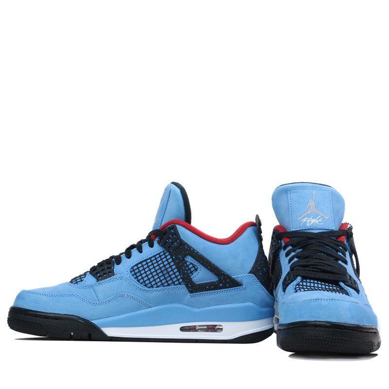 Air Jordan 4 Retro x Travis Scott 籃球鞋/運動鞋 (308497-406) 海外預訂