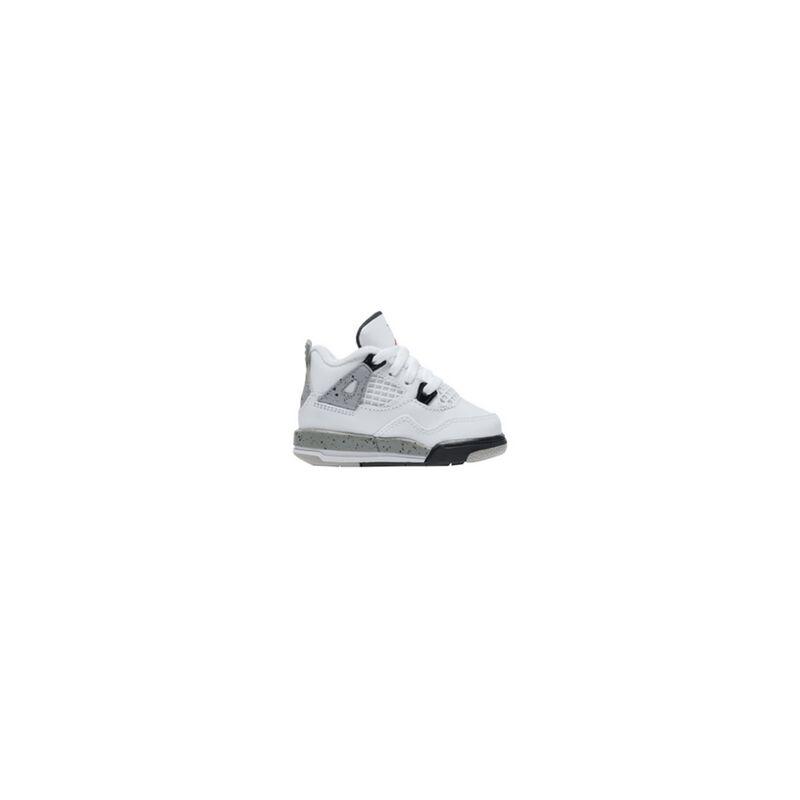 Air Jordan 4 Retro TD 'Cement' White/Fire Red-Black-Matte Silver 籃球鞋/運動鞋 (308500-104) 海外預訂