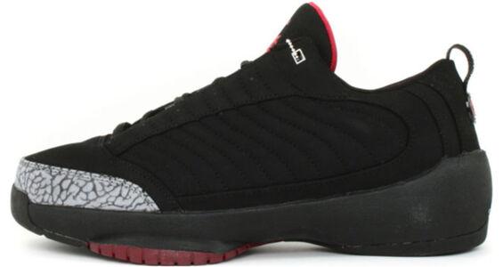 Air Jordan 19 OG Low 'Black Cement' Black/Metallic Silver/Varsity Red 籃球鞋/運動鞋 (308513-001) 海外預訂
