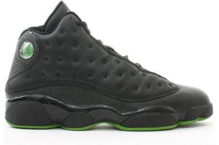 Air Jordan 13 Retro 'Altitude' 2005 Black/Altitude Green 籃球鞋/運動鞋 (310004-031) 海外預訂