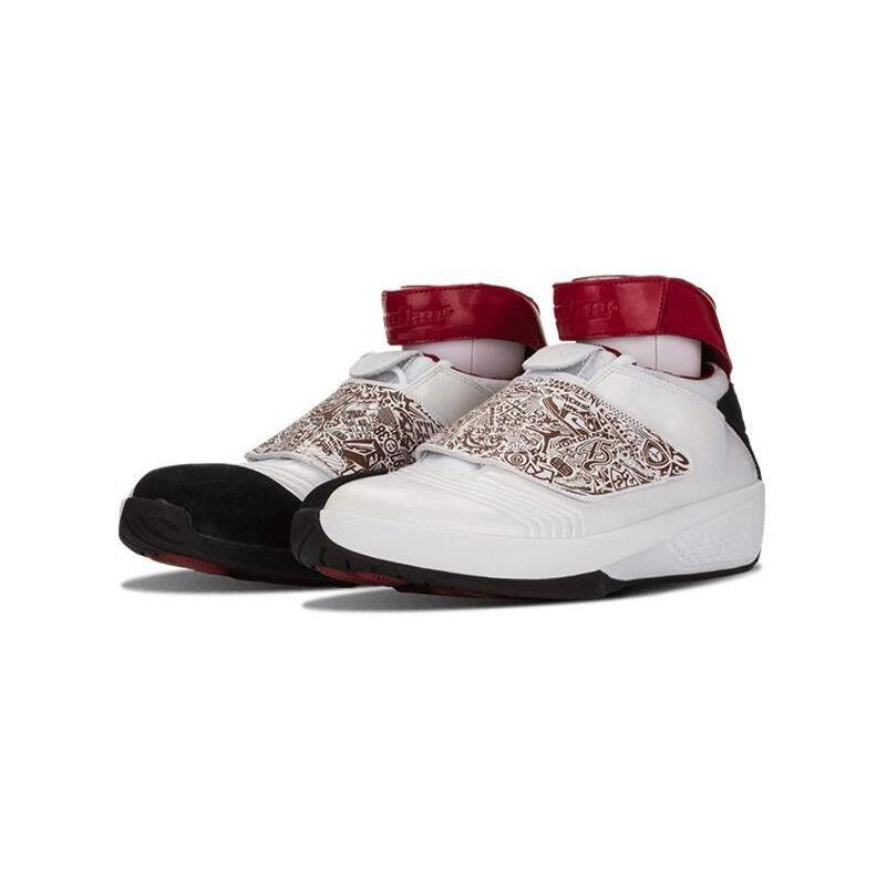Air Jordan 20 OG 'White Varsity Red' White/Varsity Red/Black 籃球鞋/運動鞋 (310455-161) 海外預訂