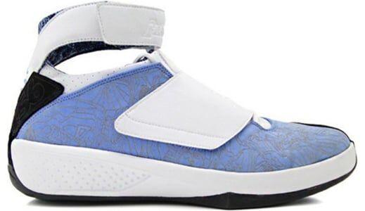 Air Jordan 20 OG 'West Coast' University Blue/White/Black 籃球鞋/運動鞋 (310455-411) 海外預訂
