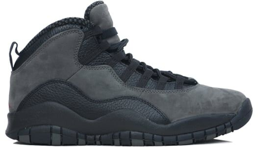 Air Jordan 10 Retro Dark Shadow 籃球鞋/運動鞋 (310805-002) 海外預訂
