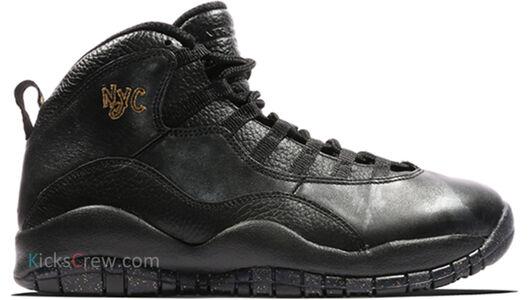 Air Jordan 10 Retro NYC 籃球鞋/運動鞋 (310805-012) 海外預訂
