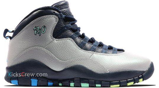 Air Jordan 10 Retro Rio 籃球鞋/運動鞋 (310805-019) 海外預訂