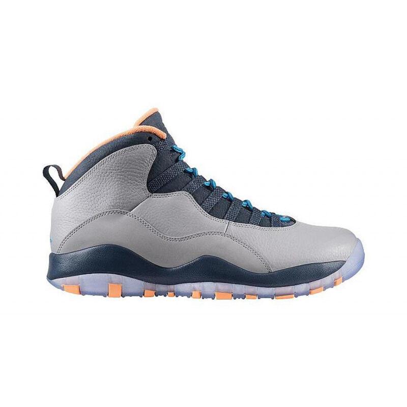 Air Jordan 10 Retro 'Bobcats' Wolf Grey/Dark Powder Blue-New Slate-Atomic Orange 籃球鞋/運動鞋 (310805-026) 海外預訂