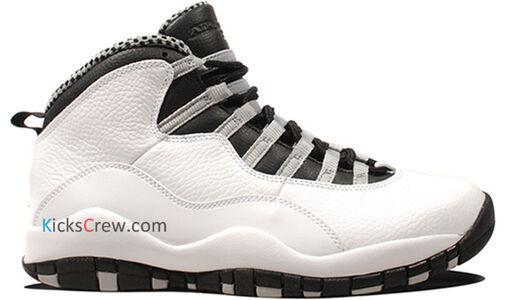 Air Jordan 10 Retro Steel 籃球鞋/運動鞋 (310805-103) 海外預訂